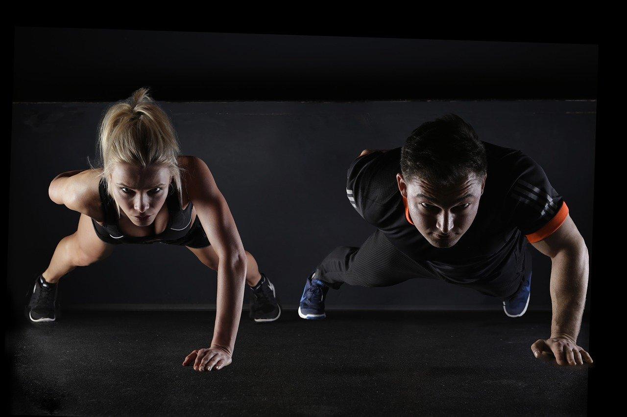 wellness routine through exercise